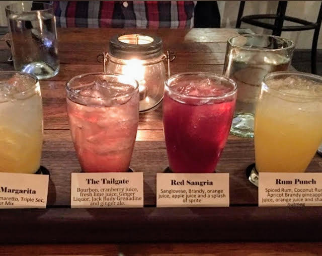 Cocktail Flight from Vintage