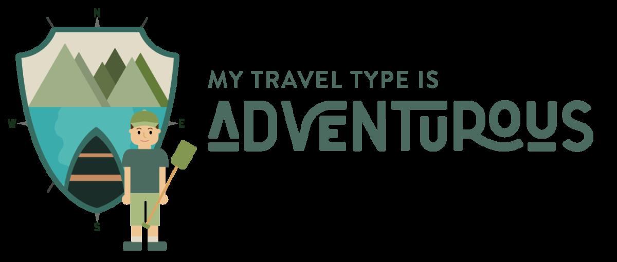 My travel type is Adventurous