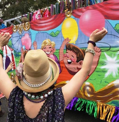 Carnival in Covington - Mardi Gras