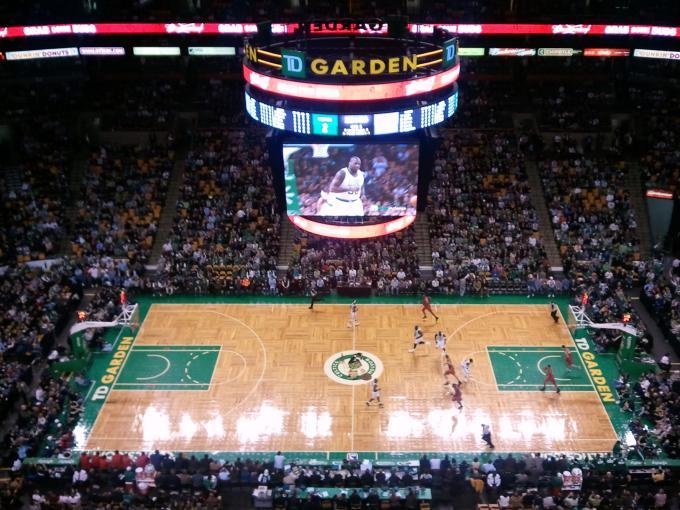 TD Garden Celtics