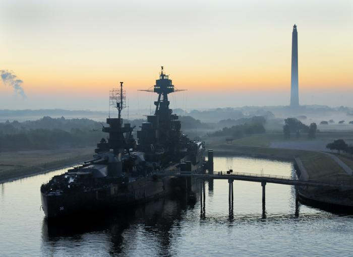 USS Texas in Deer Park, TX