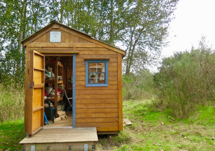 Wild Research shed