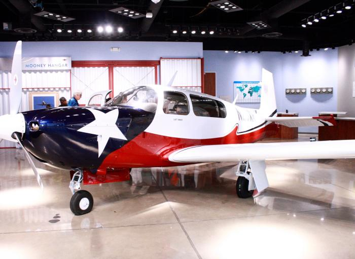 Plane at the Lone Star Flight Museum