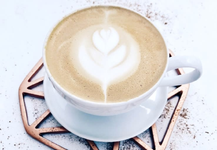 McLains Market Bourbon Caramel Latte