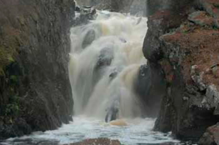 Black River Falls In Marquette, MI