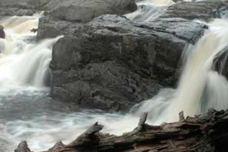 Dead River Forestville Falls In Marquette, MI