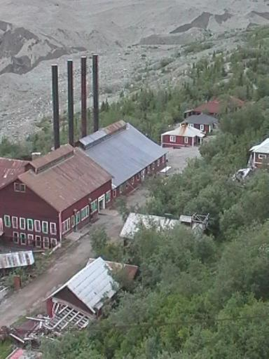 an old mining town