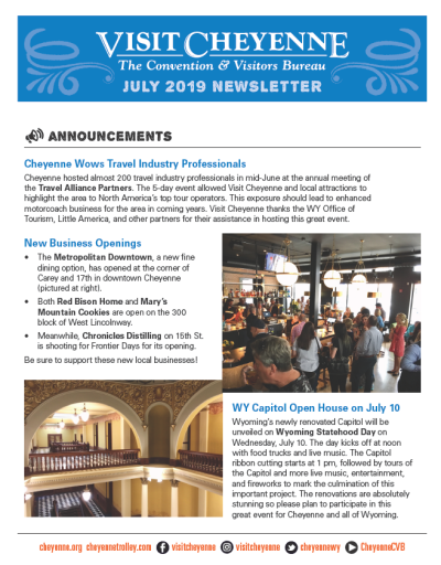 July 2019 Newsletter thumb