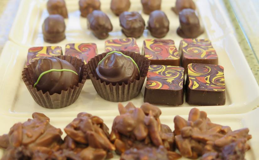 Chocolate treats at Sinfully the Best