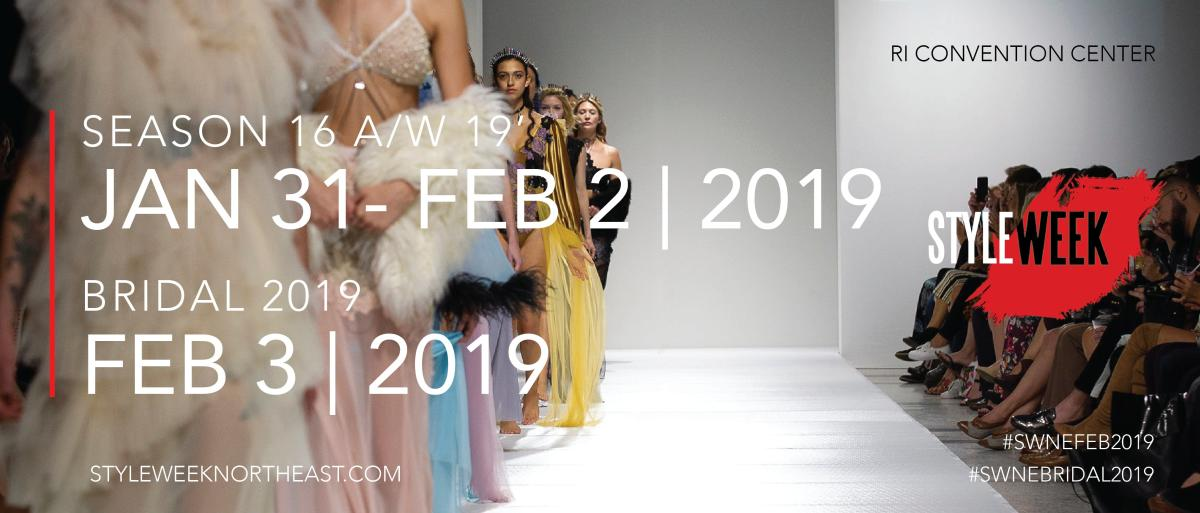2019 StyleWeek Bridal Runway show