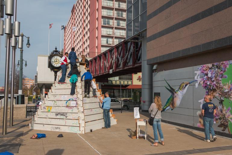 Rochester Mini Maker Faire at the Riverside Convention Center in Rochester, NY