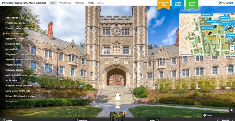 Princeton University main entrance