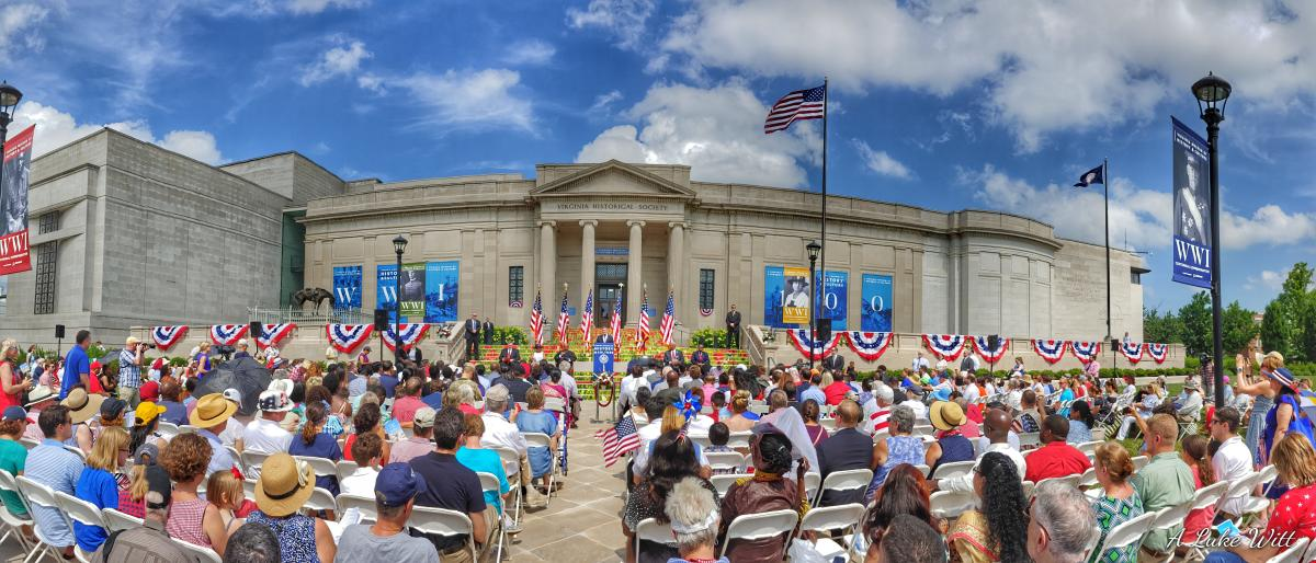 4th of July Naturalization Ceremony at VA Museum of History and Culture