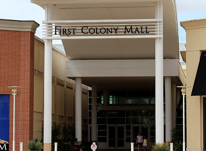 First Colony Mall Exterior