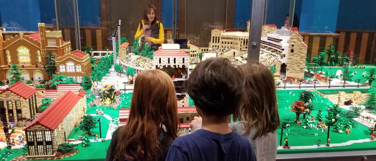 CU Hit the Bricks LEGO Exhibit