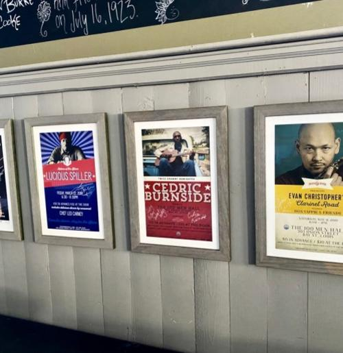 100 Men Hall concert posters - Discover Coastal Mississippi's African American Heritage