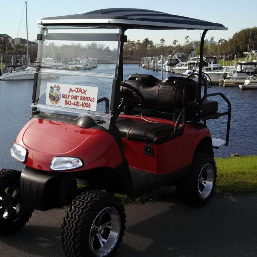 A-Jax Golf Cart
