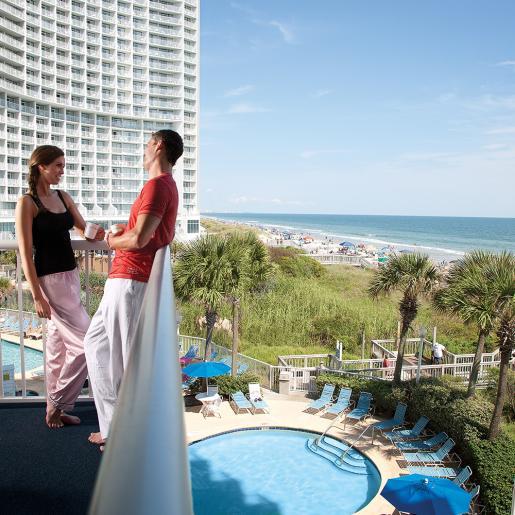 Sea Watch Resort Balcony