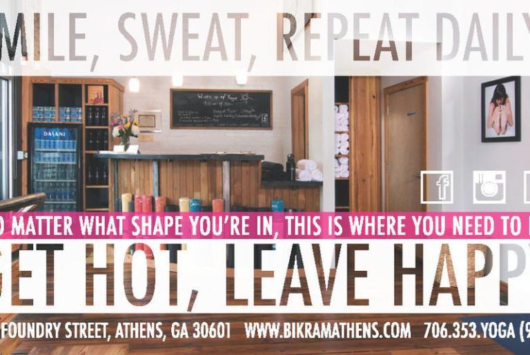 Bikram Yoga Athens Smile Sweat Repeat