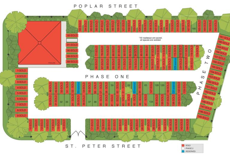 Tailgate Station Site Plan