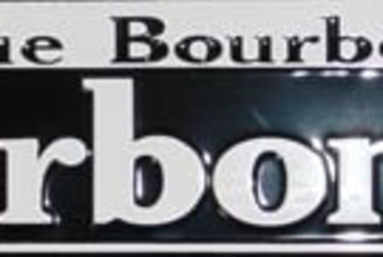 Bourbon St. Sign
