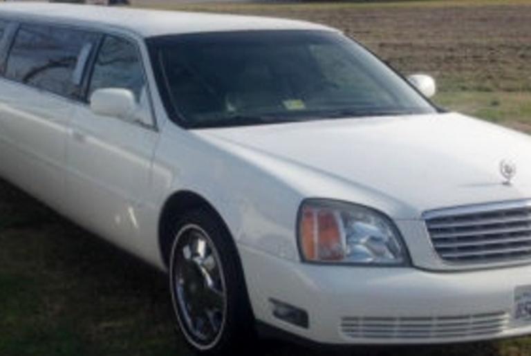 White Cadillac Limo