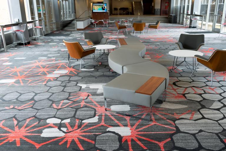 Pecan Tree Galleria Lobby