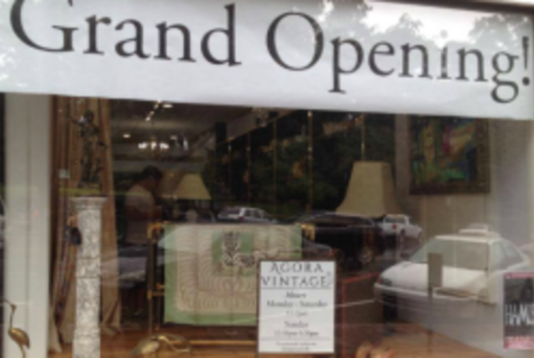 Agora Vintage Storefront