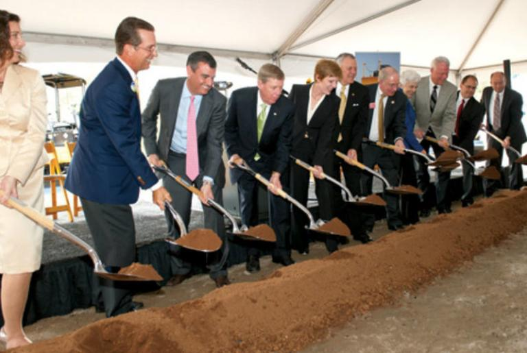 Caterpillar Groundbreaking
