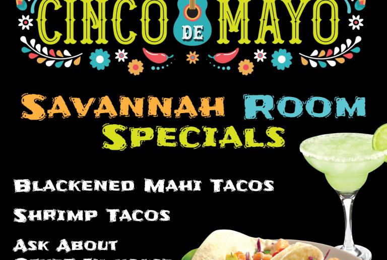 Cinco de Mayo specials poster
