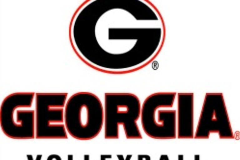 UGA Volleyball logo