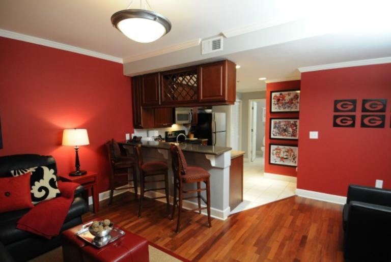 GA Gameday Center Living Room 1
