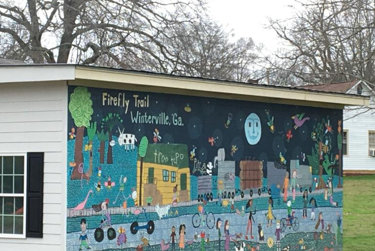 Firefly Trail Mural