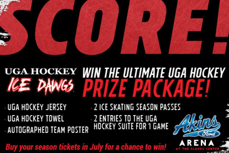 Win the Ultimate UGA Hockey Prize Package