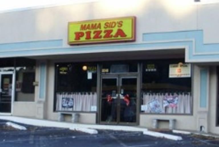 Mama Sids pizza logo