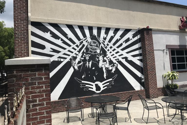 Max Canada mural