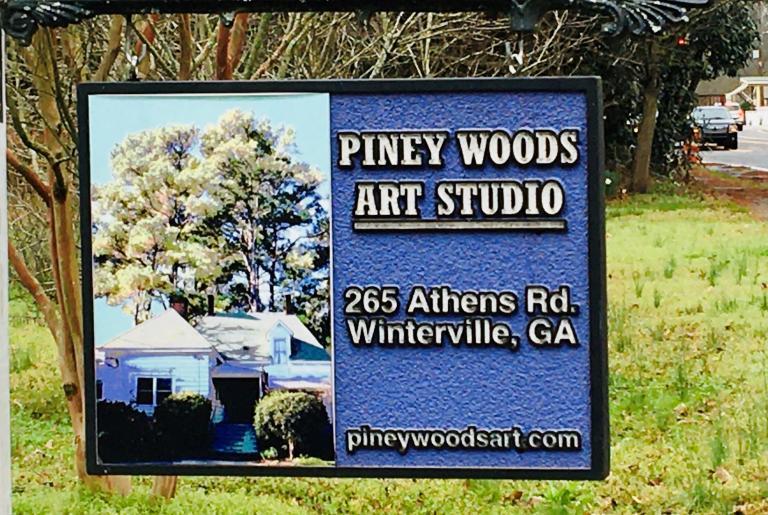 Pineywoods sign