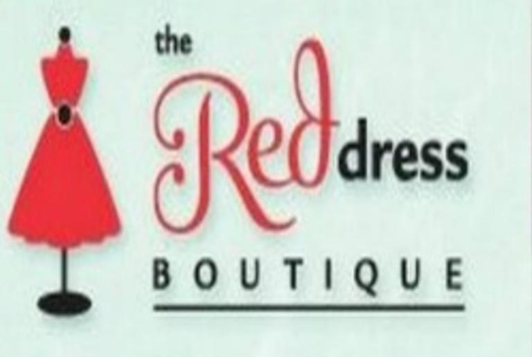 Red Dress Boutique Logo