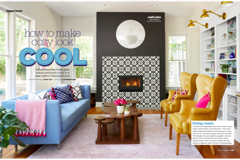 Featured in HGTV magazine- May 2018 Edition