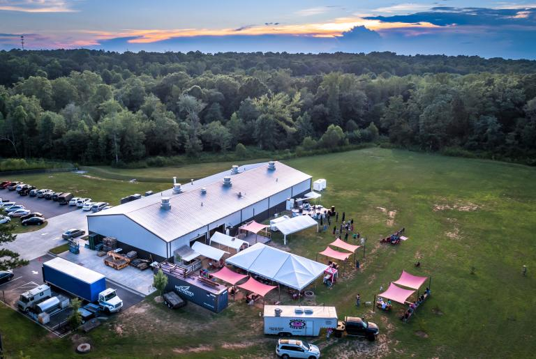 Aerial View: The Southern Brewing Company