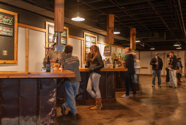 Terrapin brewery indoor tasting room