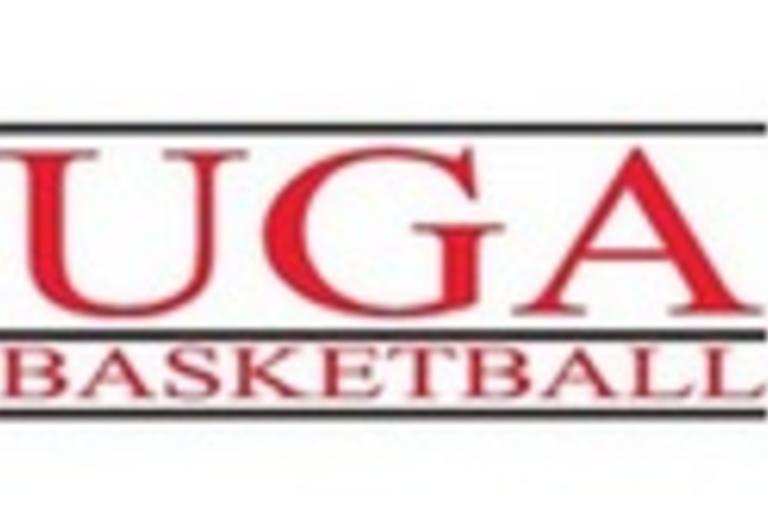 UGA Basketball logo