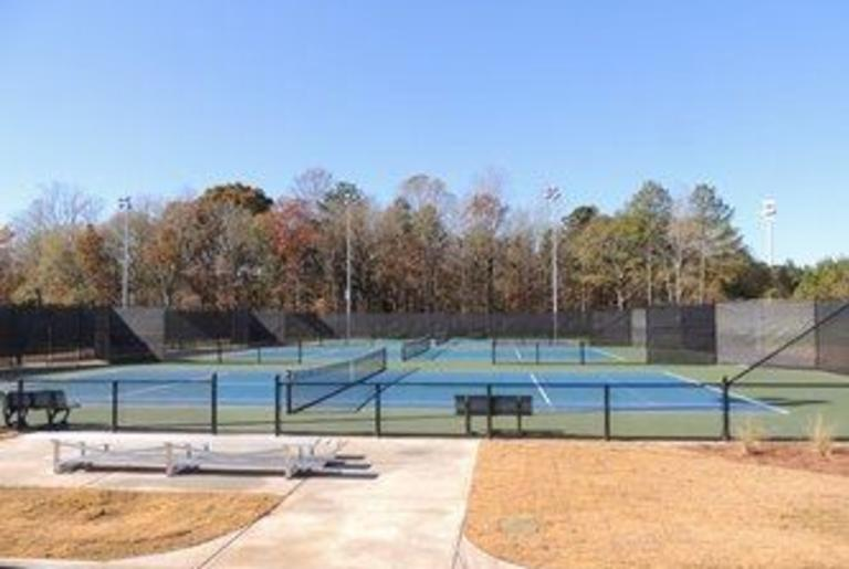 Athens-Clarke County Tennis Center court