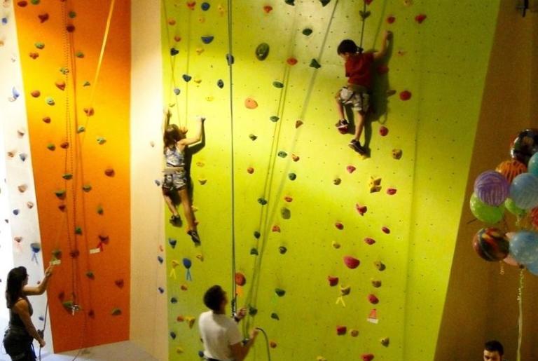 Active Climbing Rock Wall