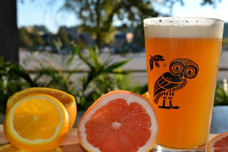 Akademia brewing with fruit