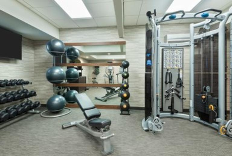Courtyard by Marriott Fitness Room