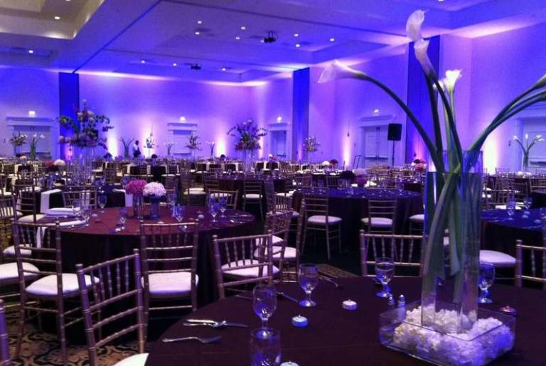 Athena Wedding Table at The Classic Center
