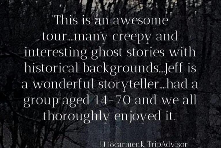 Haunted History Tour review