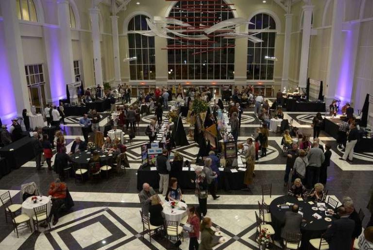 Classic Center Atrium Reception