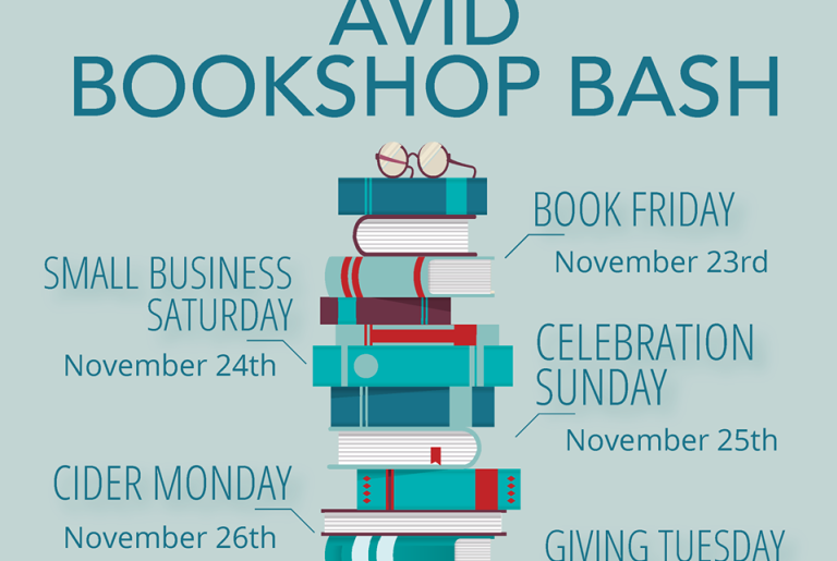 Avid Bookshop Bash